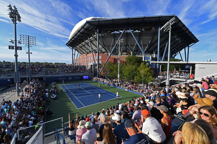 Один из кортов US Open