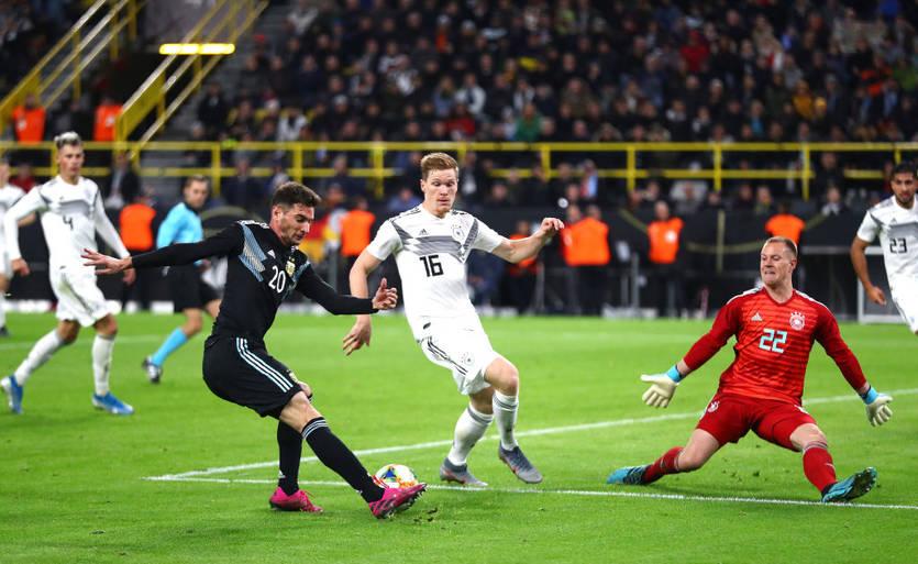 Сборная Аргентины сыграла вничью с Германией