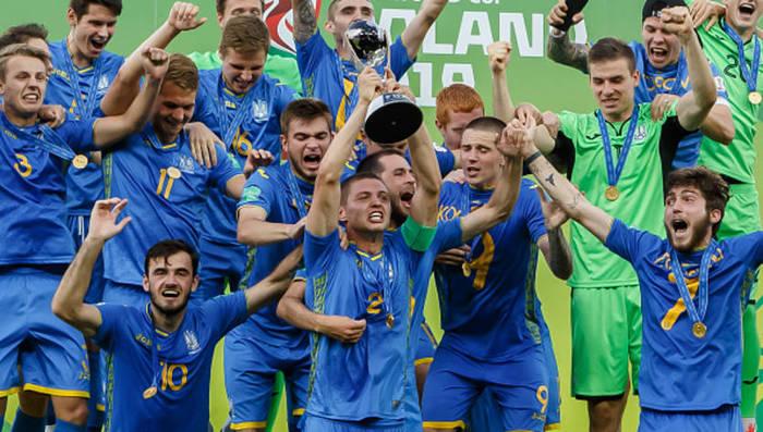 Сборная Украины U-20