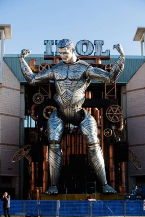 Железная копия Криштиану Роналду украсила карнавал в Италии
