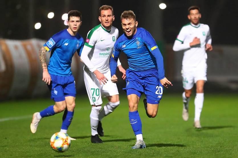 Динамо - Олимпия 5:0 видео голов и обзор матча