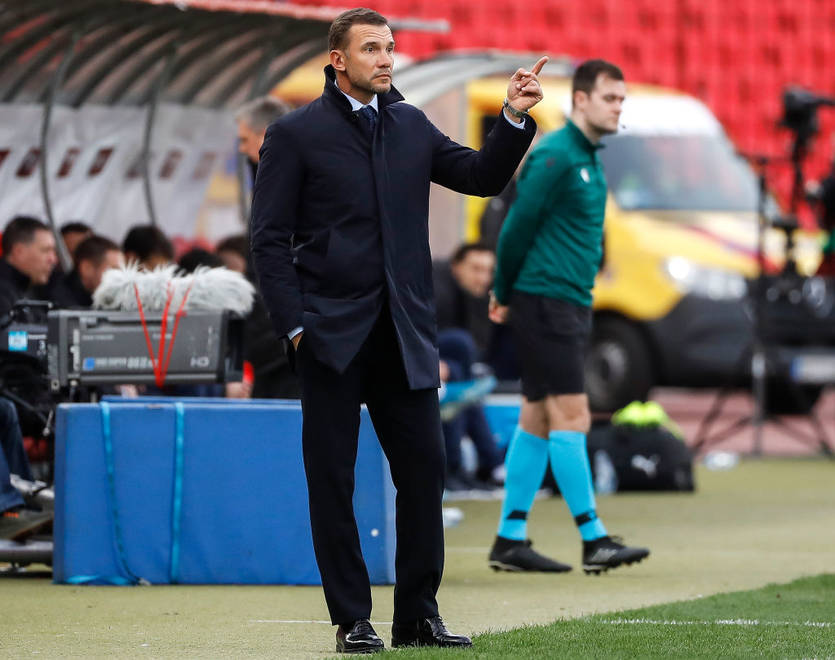 Шевченко: У нас есть чат сборной и мы пытаемся поддерживать наших ребят в Италии