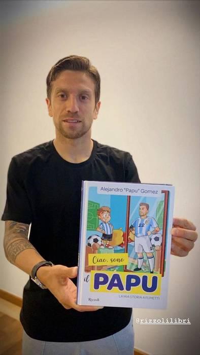 Алехандро Гомес представил свою книгу для детей