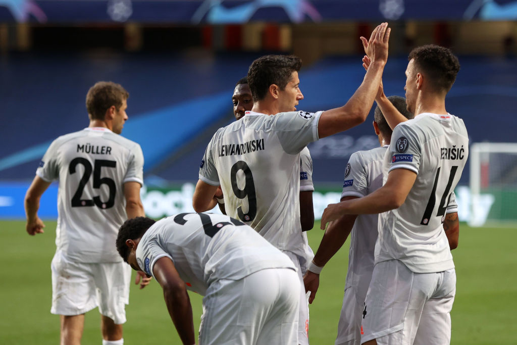 Барселона - Бавария 2:5 онлайн-трансляция матча 1/4 Лиги чемпионов