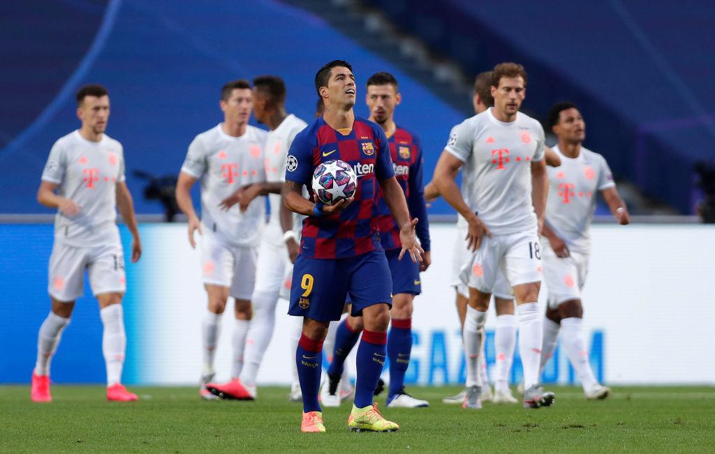 Барселона - Бавария 2:8 Видео голов и обзор четвертьфинала Лиги чемпионов
