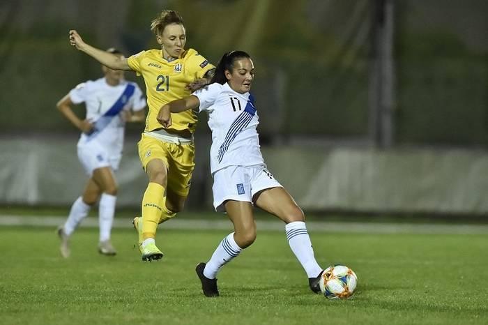 Женская сборная Украины обыграла Грецию