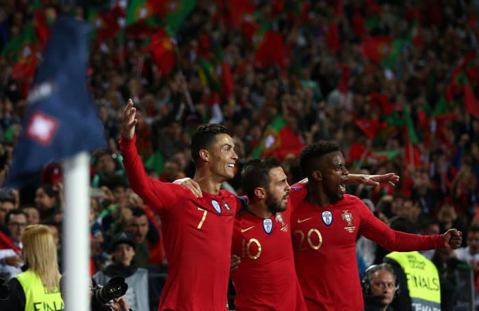 Нелсон Семеду в составе сборной Португалии