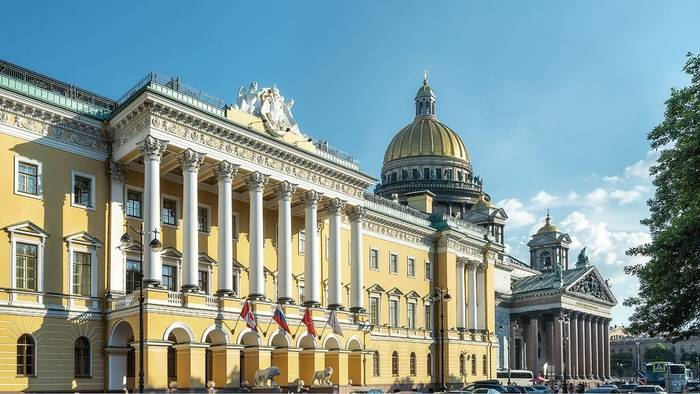 Гостиница в Санкт-Петербурге, в которой жил Куэрри