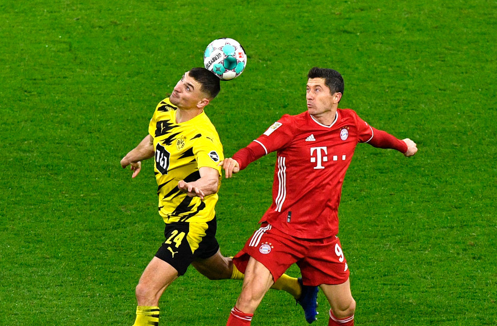 Боруссия Д - Бавария 2:3 видео голов и обзор матча чемпионата Германии