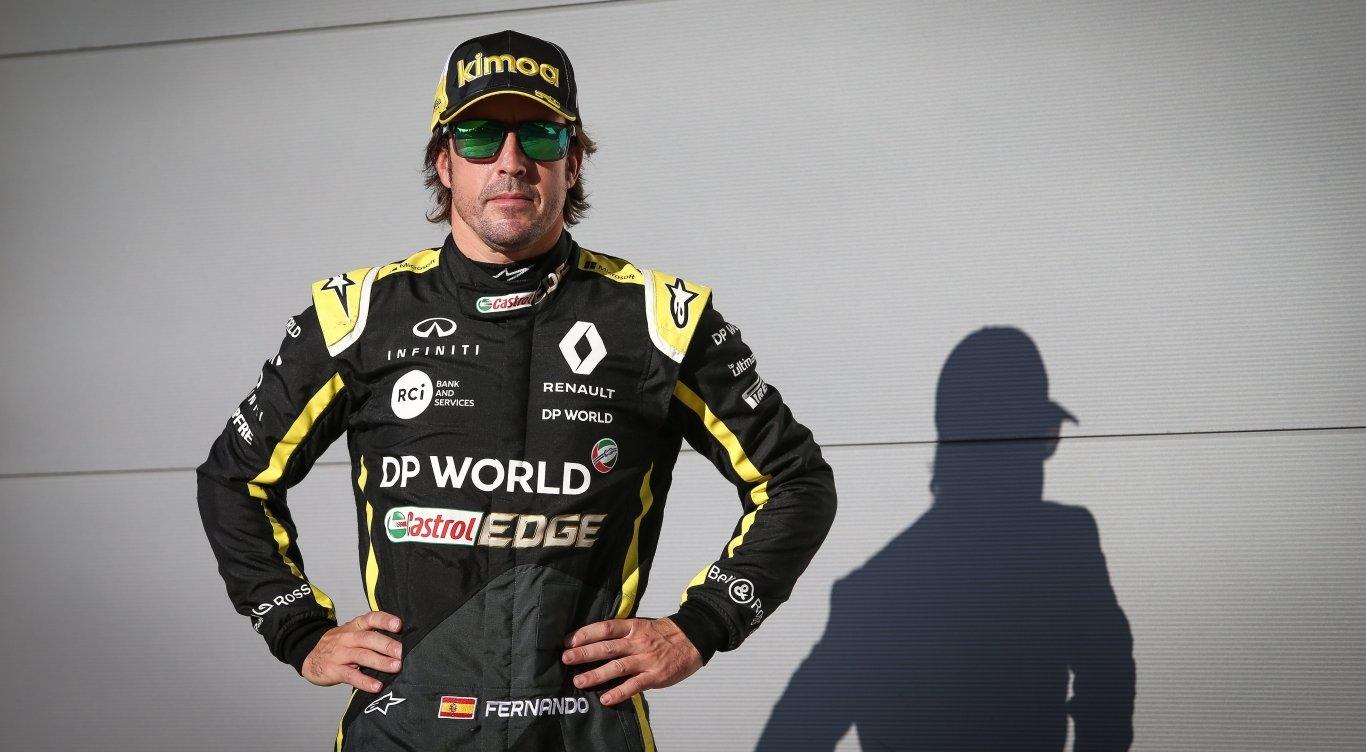 Алонсо будет выступать за Рено на тестах молодых пилотов в Абу-Даби