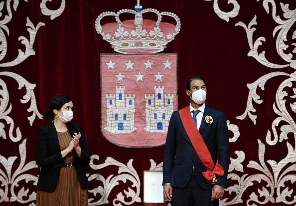 Надаль получил высшую награду Мадрида