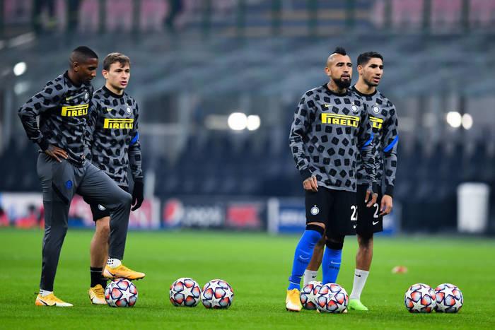 Интер готовится к матчу Лиги чемпионов