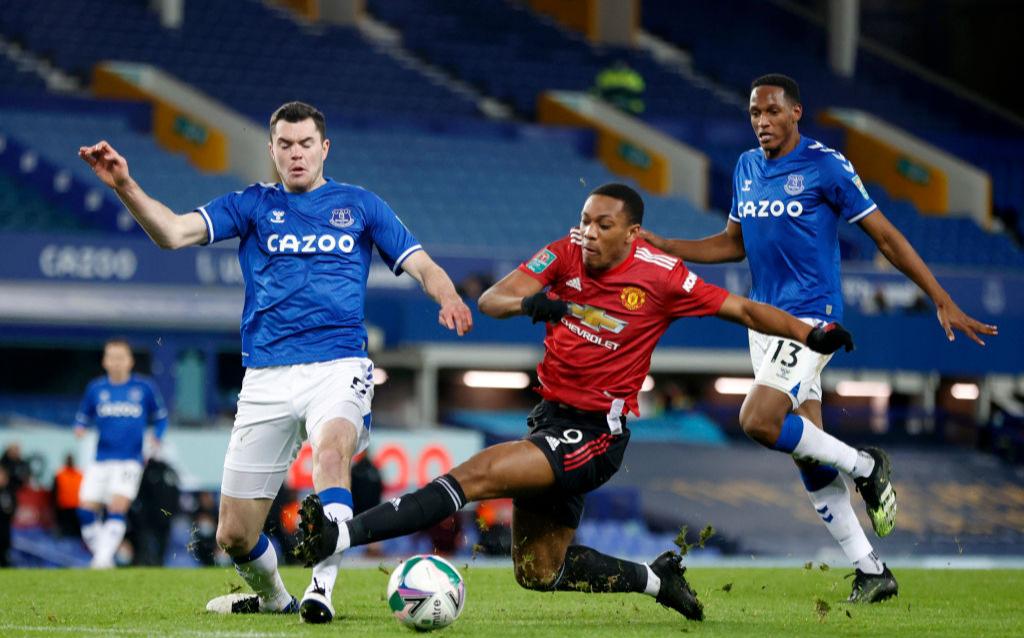 Манчестер Юнайтед обыграл Эвертон и вышел в полуфинал Кубка лиги