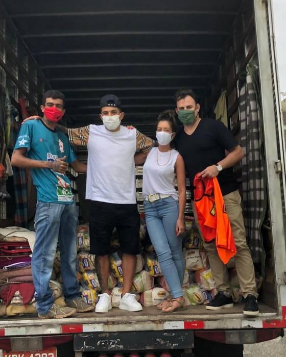Додо занялся благотворительностью в Бразилии / instagram.com/dodo98___/