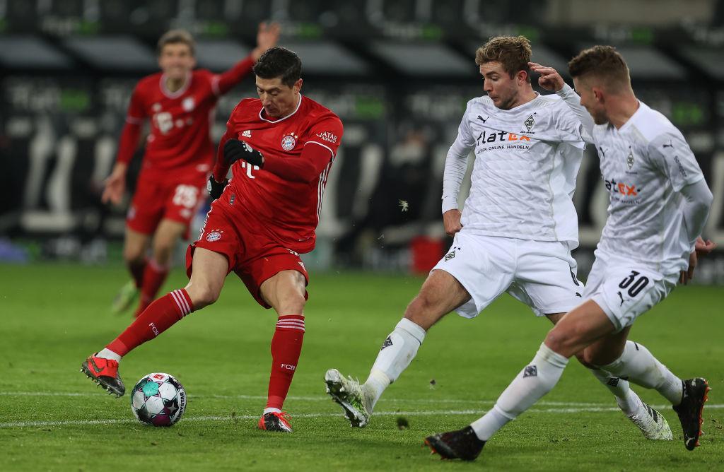 Боруссия М - Бавария 3:2 видео голов и обзор матча чемпионата Германии