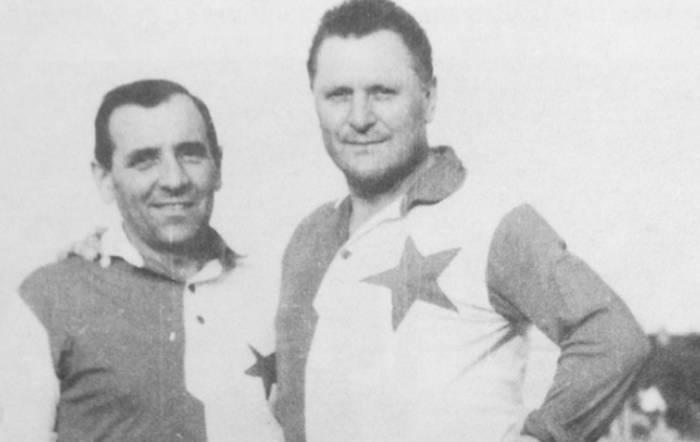 Йозеф Бицан (справа)