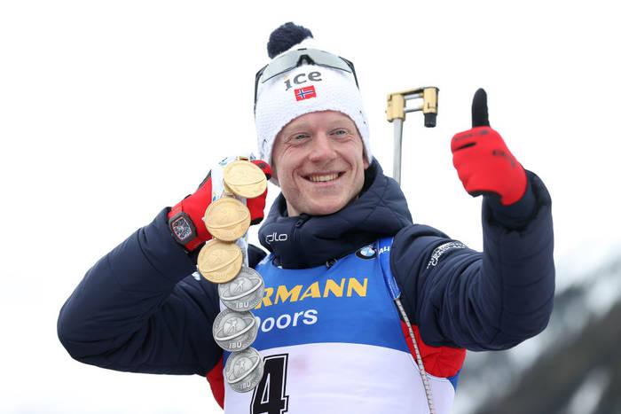 Йоханнес Бе с медалями на ЧМ-2020