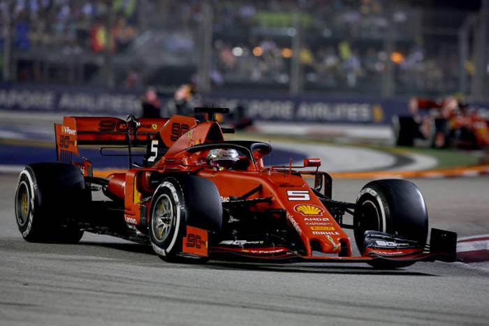 Себастьян Феттель - Гран-при Сингапура - 2019 год