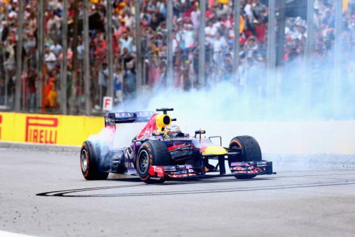 Себастьян Феттель - Гран-при Бразилии - 2013 год