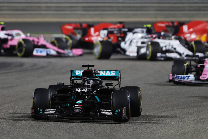 Льюис Хэмилтон - Гран-при Бахрейна - 2020 год