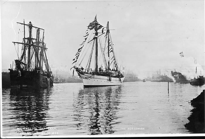 Открытие Манчестерского канала, 1894 год