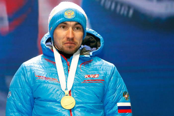 Александр Логинов с золотой медалью