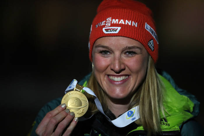 Дениз Херрманн выиграла золото на ЧМ-2019