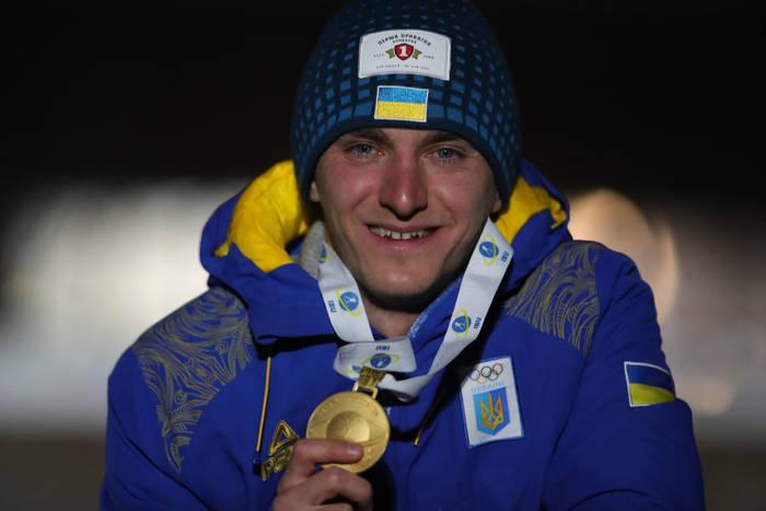 Дмитрий Пидручный с золотой медалью ЧМ-2019