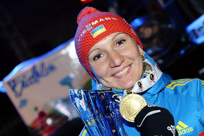 Елена Пидгрушная с золотом на ЧМ-2013