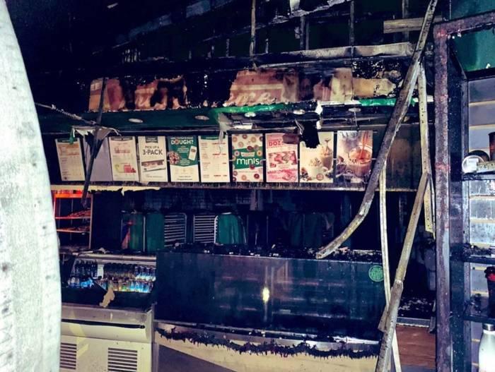 В Атланте сгорел магазин пончиков Шакила О'Нила
