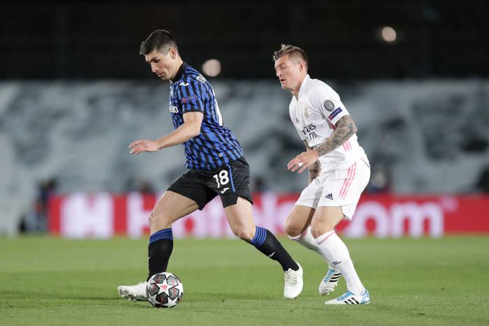 Руслан Малиновский в матче против Реала