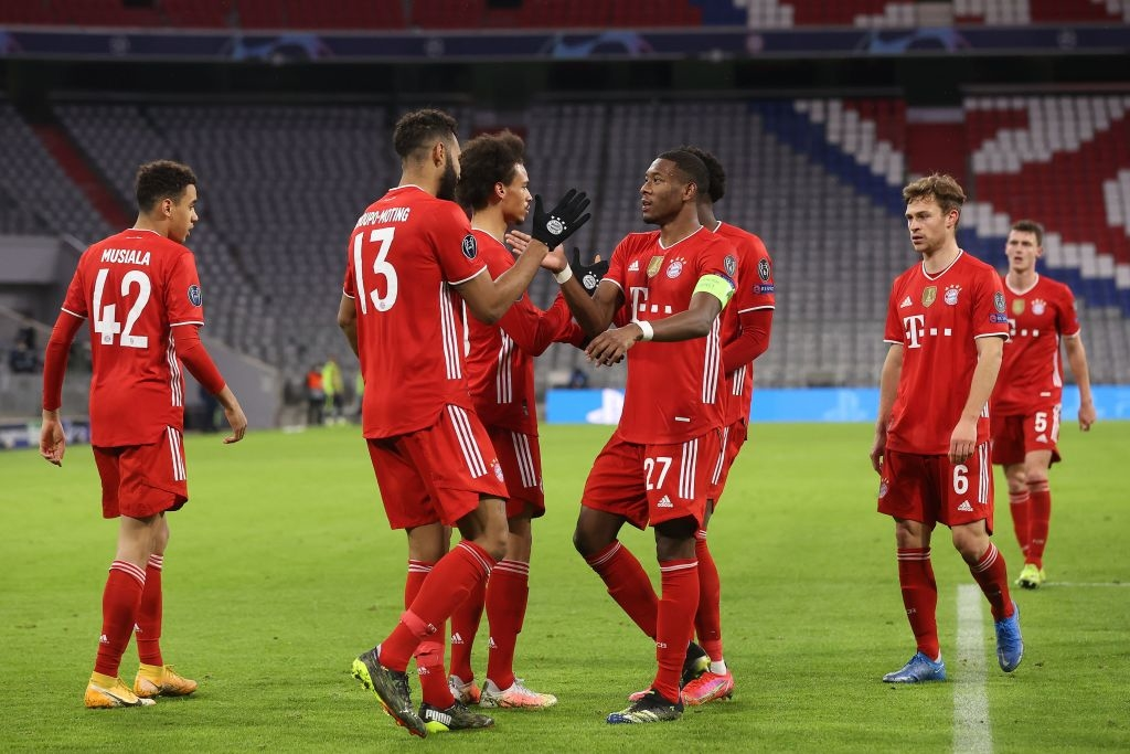 Бавария в рекордный раз вышла в четвертьфинал Лиги чемпионов