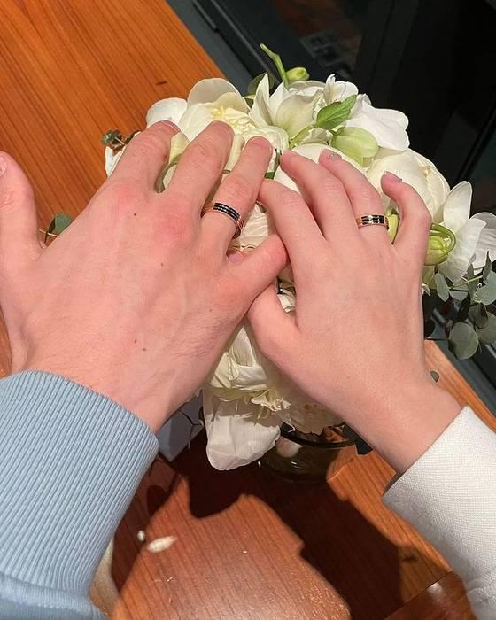 Андрей Лунин женился на Анастасии Томазовой