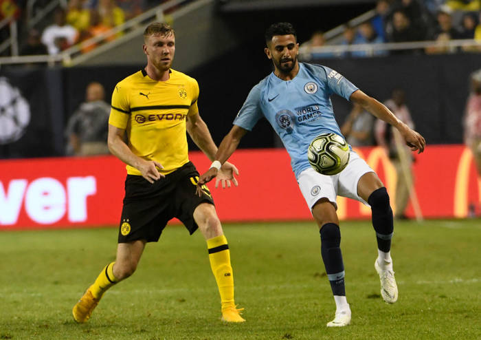 Матч между Боруссией Д и Манчестер Сити, 2018 год