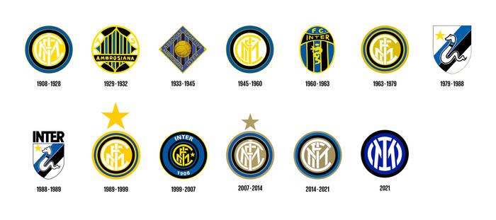 Логотипы Интера
