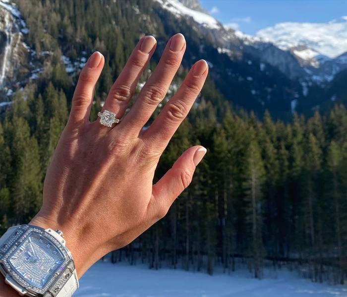 Обручальное кольцо Элины Свитолиной