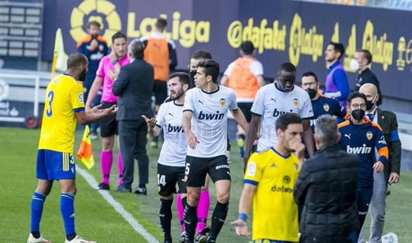 Матч чемпионата Испании прерывался на 25 минут из-за расизма