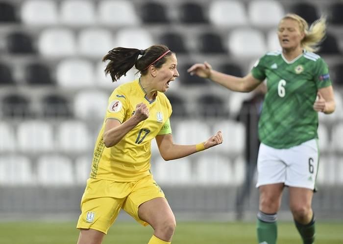 Дарья Апанащенко забила в ворота Северной Ирландии