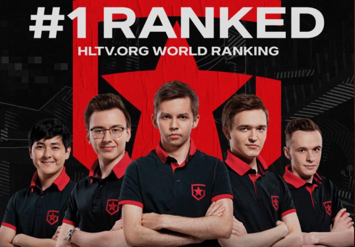 Рейтинг HLTV: Gambit стали первыми, NaVi покинули тройку лучших