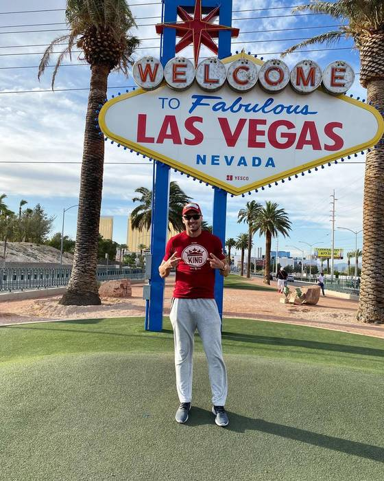 Александр Гвоздик в Лас-Вегасе