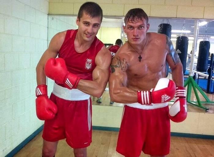 Александр Усик и Александр Гвоздик