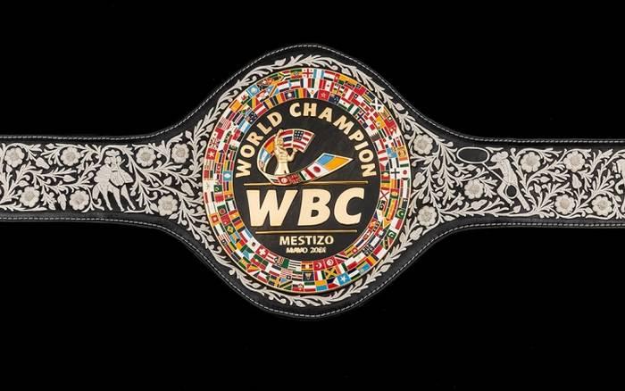 WBC представил специальный пояс