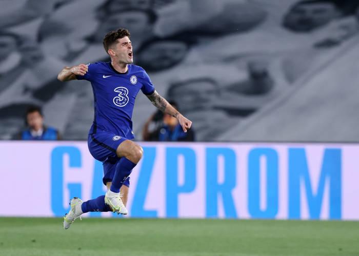 Кристиан Пулишич празднует гол в ворота Реала