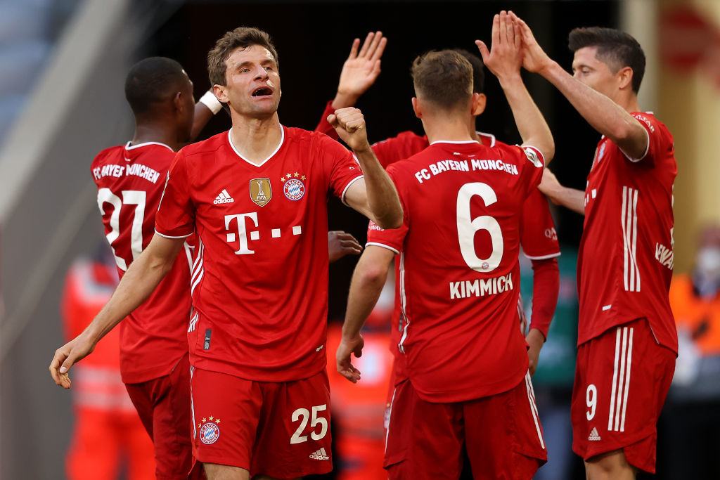 Бавария - Боруссия М 6:0 видео голов и обзор матча