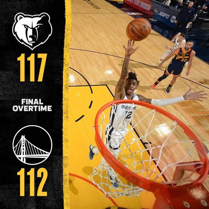 Мемфис вышел в плей-офф НБА / twitter.com/memgrizz