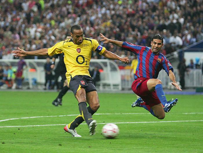 Арсенал уступил Барселоне в финале ЛЧ-2005/06