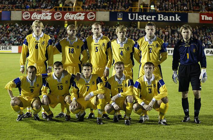 Стартовый состав сборной Украины на матч против Северной Ирландии