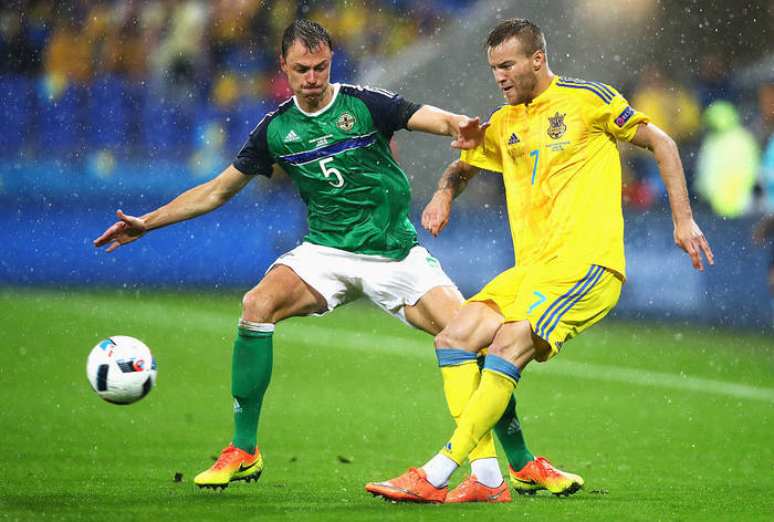 Последняя встреча команд состоялась на Евро-2016, Украина проиграла со счетом 0:2