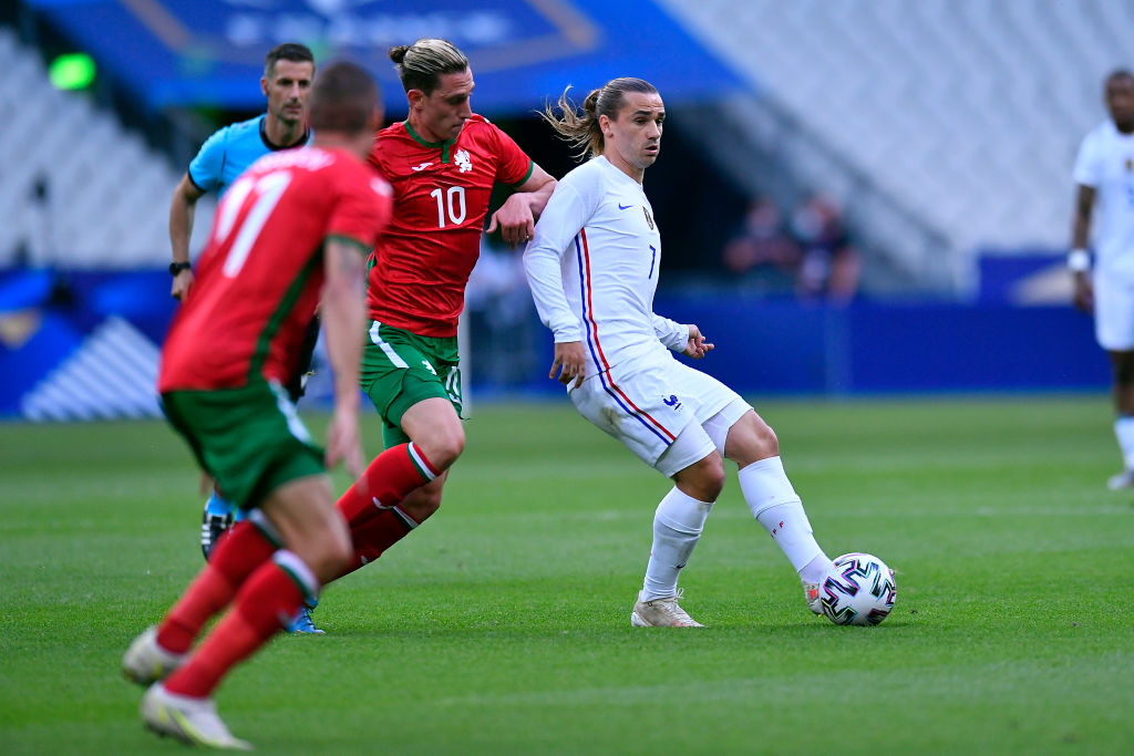 Контрольные матчи: Франция разгромила Болгарию, Испания обыграла Литву