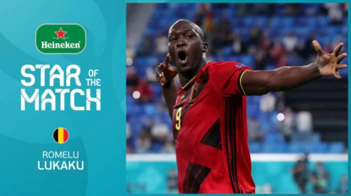Ромелу Лукаку - лучший игрок матча Бельгия - Россия